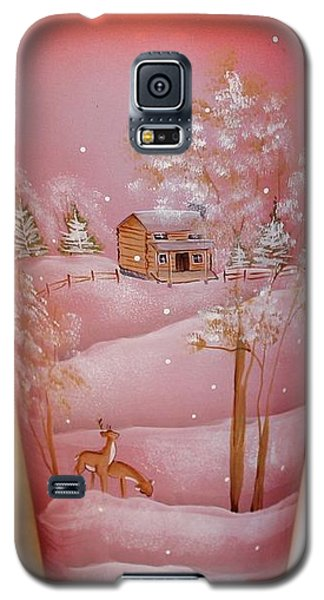 Galaxy S5 Case featuring the photograph Vase by John Mathews
