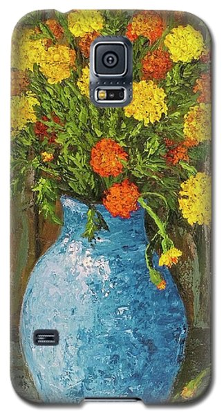 Vase Of Marigolds Galaxy S5 Case