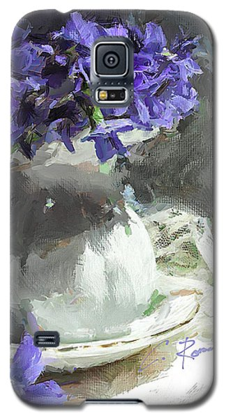Vase With Violets Galaxy S5 Case