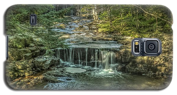 Galaxy S5 Case featuring the photograph Vaughan Woods Stream by Jane Luxton