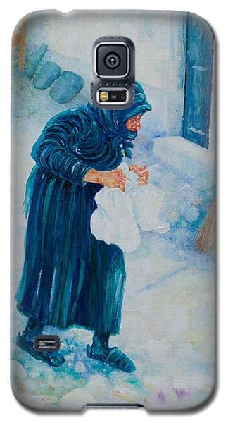 Forenza Vita Nonna Filomena In Blu Galaxy S5 Case