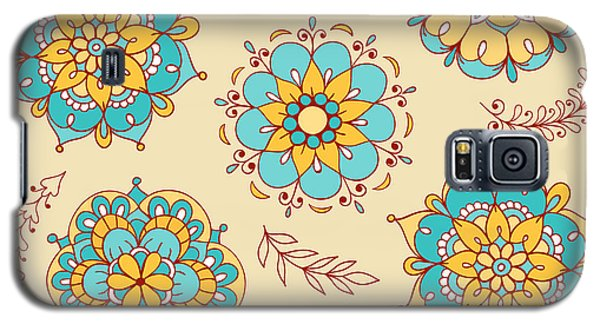 Branch Galaxy S5 Case - Vector Seamless Pattern, Doodling by Xox