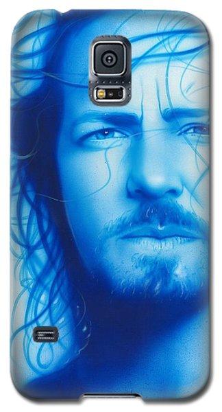 Eddie Vedder - ' Vedder ' Galaxy S5 Case by Christian Chapman Art
