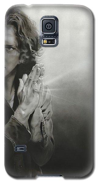 Eddie Vedder - ' Vedder Iv ' Galaxy S5 Case by Christian Chapman Art