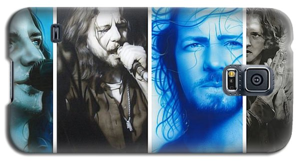 Eddie Vedder - ' Vedder Mosaic I ' Galaxy S5 Case by Christian Chapman Art