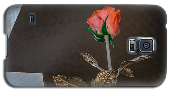 Galaxy S5 Case featuring the photograph Vegas Rose by Glenn DiPaola