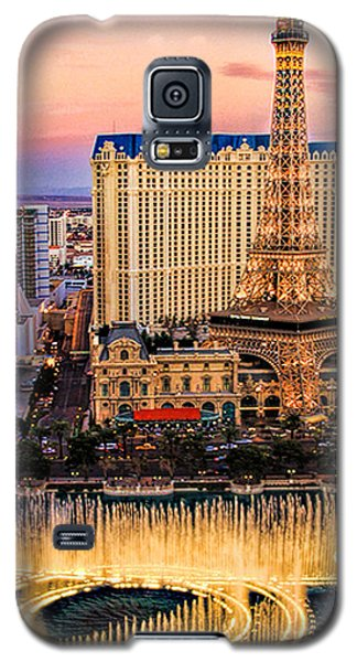 Vegas Water Show Galaxy S5 Case by Tammy Espino