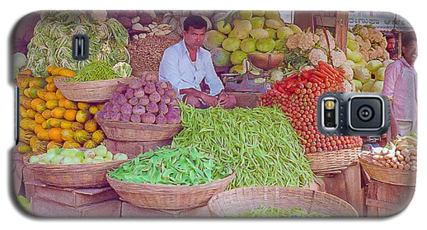 Vegetable Seller In Indian Market Galaxy S5 Case