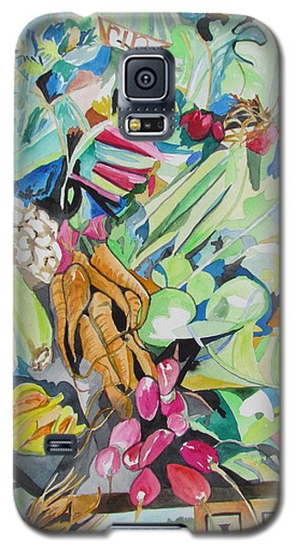Vegetables At The Jerusalem Market Galaxy S5 Case by Esther Newman-Cohen