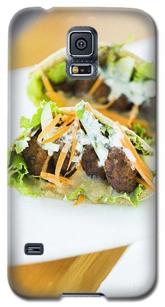 Vegetarian Falafel In Pita Bread Sandwich Galaxy S5 Case