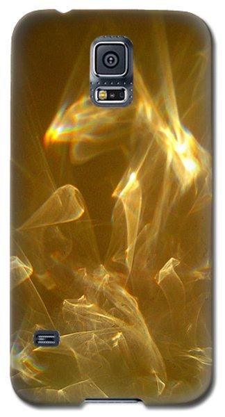 Galaxy S5 Case featuring the photograph Veils Of Light by Leena Pekkalainen