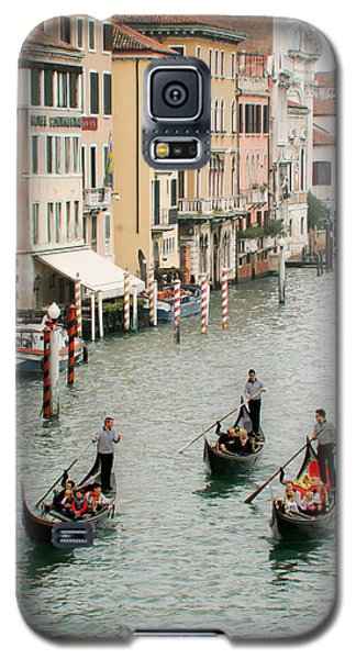 Galaxy S5 Case featuring the photograph Venice by Silvia Bruno