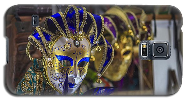 Venetian Carnival Masks Cadiz Spain Galaxy S5 Case