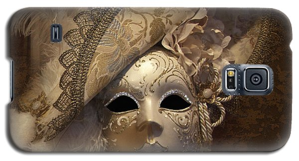 Venetian Face Mask F Galaxy S5 Case by Heiko Koehrer-Wagner