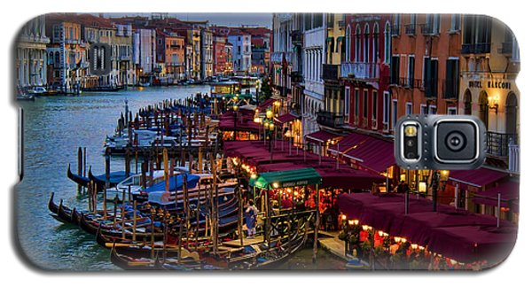 Venetian Grand Canal At Dusk Galaxy S5 Case by David Smith