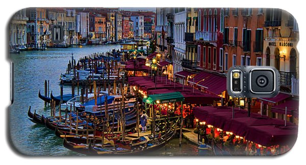 Venetian Grand Canal At Dusk Galaxy S5 Case
