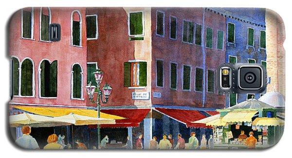 Venetian Piazza Galaxy S5 Case by Roger Rockefeller