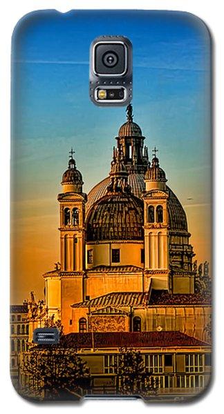 Venezia-basilica Of Santa Maria Della Salute Galaxy S5 Case