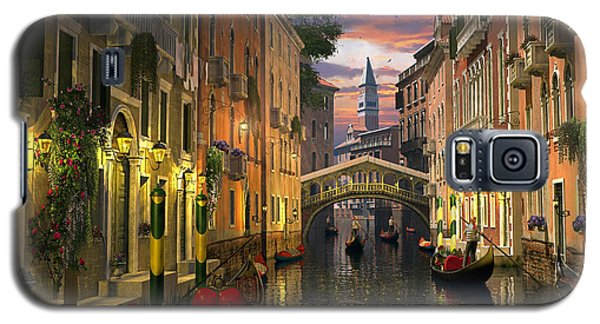 Venice At Dusk Galaxy S5 Case