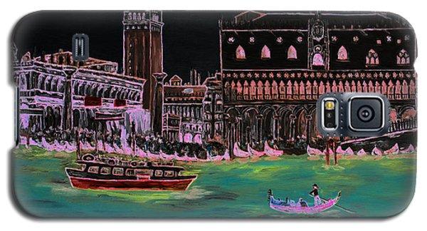 Venice At Night Galaxy S5 Case by Loredana Messina