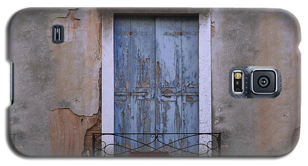 Venice Blue Shutters Horizontal Photo Galaxy S5 Case
