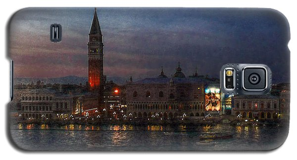 Galaxy S5 Case featuring the photograph Venice By Night by Hanny Heim