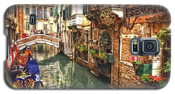 Venice Canal Serenity Galaxy S5 Case by Gianfranco Weiss