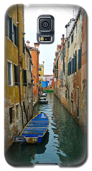 Galaxy S5 Case featuring the photograph Venice Canal by Silvia Bruno