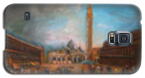 Galaxy S5 Case featuring the painting Venice by Egidio Graziani