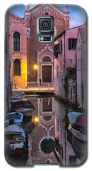 Venice Evening Galaxy S5 Case by Joan Herwig