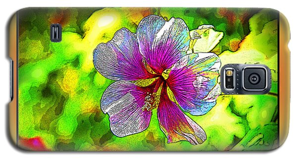 Venice Flower - Framed Galaxy S5 Case