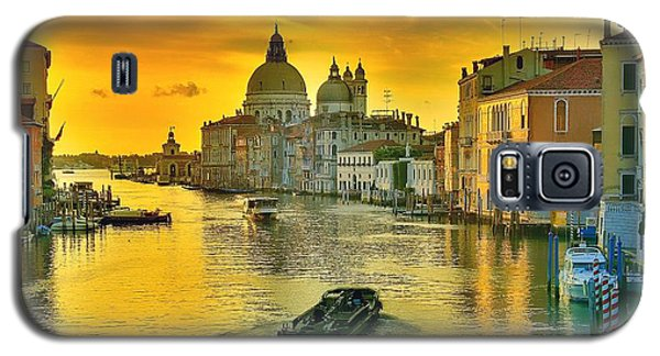 Golden Venice 3 Hdr - Italy Galaxy S5 Case by Maciek Froncisz