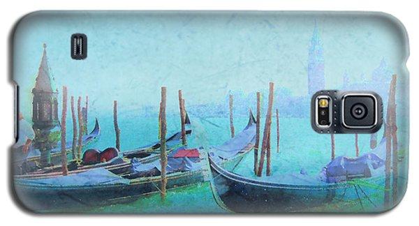 Venice Italy Gondolas With San Giorgio Maggiore Galaxy S5 Case by Douglas MooreZart