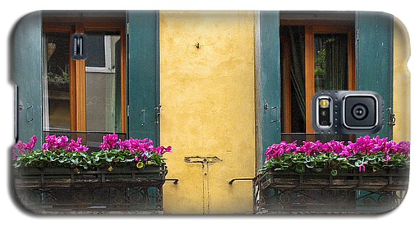 Venice Italy Teal Shutters Galaxy S5 Case