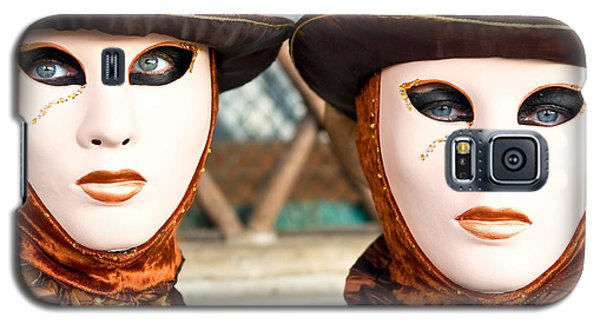 Venice Masks - Carnival. Galaxy S5 Case by Luciano Mortula