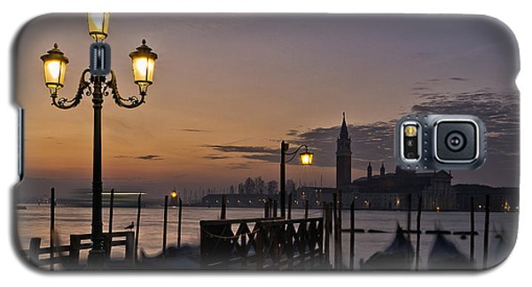 Galaxy S5 Case featuring the photograph Venice Night Lights by Marion Galt