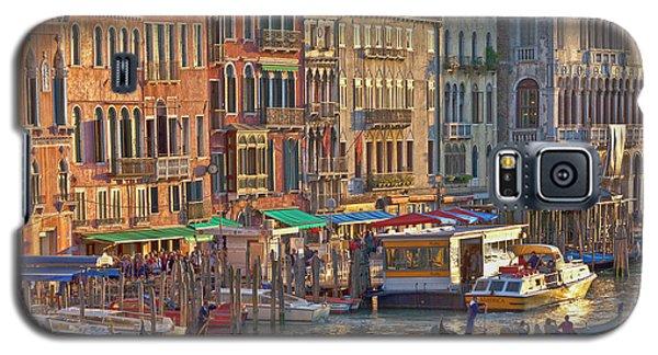 Venice Palazzi At Sundown Galaxy S5 Case