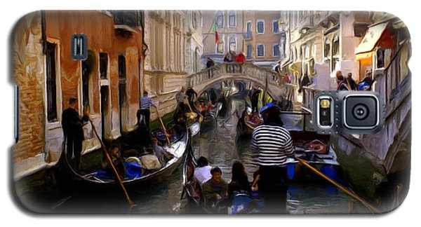 Galaxy S5 Case featuring the digital art Venice by Ron Harpham