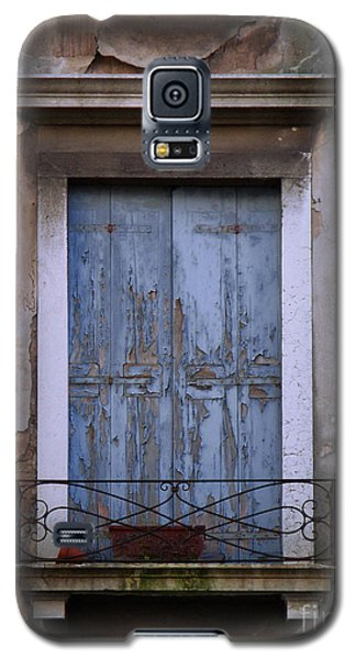 Venice Square Blue Shutters Galaxy S5 Case