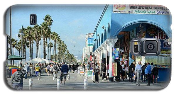 Venice Street Scene Galaxy S5 Case
