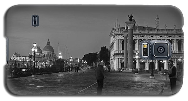 Galaxy S5 Case featuring the photograph Venice Sweepers by Marion Galt