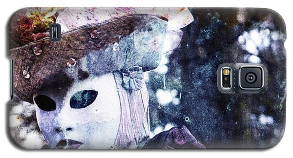 Galaxy S5 Case featuring the photograph Venitian Carnival - I Love Mystery by Barbara Orenya