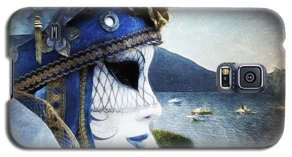 Galaxy S5 Case featuring the photograph Venitian Carnival - La Dame Du Lac by Barbara Orenya