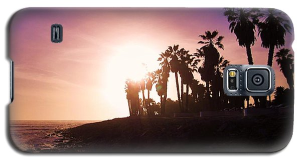 Ventura Beach Sunset Galaxy S5 Case