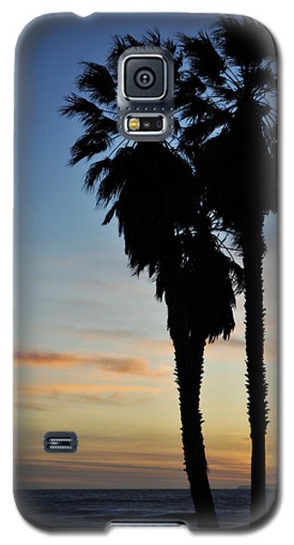 Ventura Palm Sunset Galaxy S5 Case