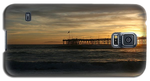 Ventura Pier 01-10-2010 Sunset  Galaxy S5 Case by Ian Donley