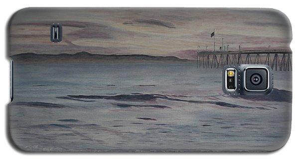 Ventura Pier High Surf Galaxy S5 Case