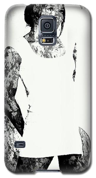 Venus Williams Paint Splatter 2c Galaxy S5 Case by Brian Reaves