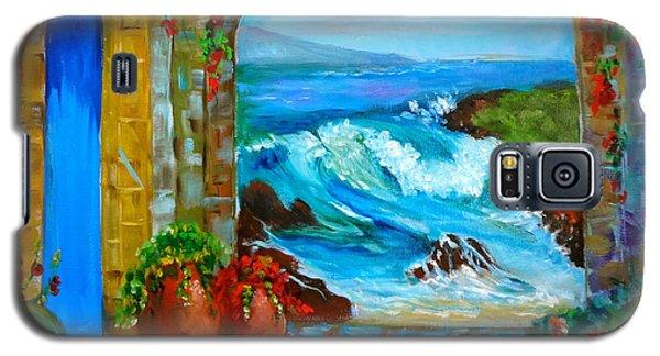 Veranda Ocean View Galaxy S5 Case