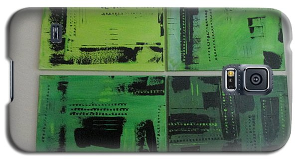 Galaxy S5 Case featuring the painting Verdant Earth by Sharyn Winters